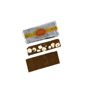 Torrone Nocciolato. Un mix di nocciole e cioccolato.